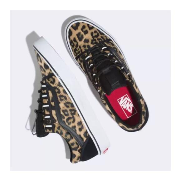 362355a6d83d9 Vans Shoes | Discontinued Old Skool Leopard Print | Poshmark